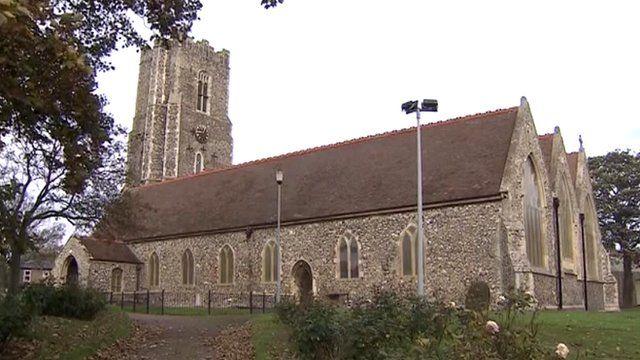 St Andrew's Church in Gorleston