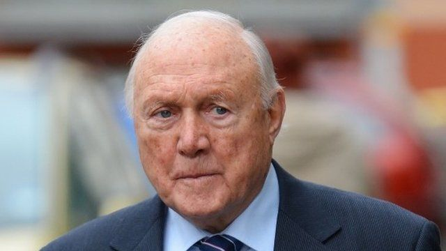 Stuart Hall, pictured in February 2013