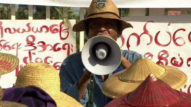 Rally in Burma