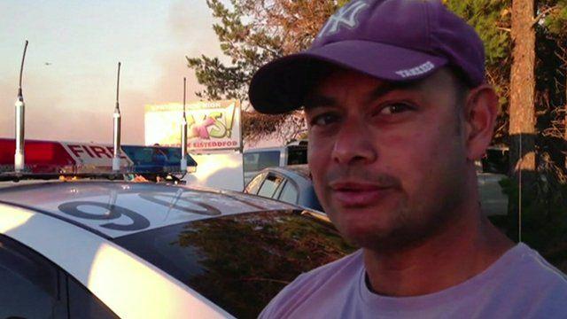Faulconbridge: Locals staying put despite nearby bushfires