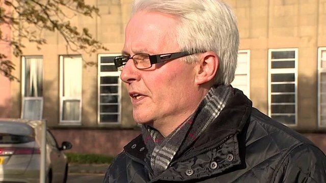 Unite Scottish Secretary Pat Rafferty