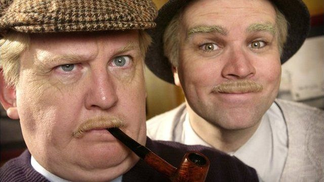 Jack and Victor starred in six series of the hit Scottish sitcom