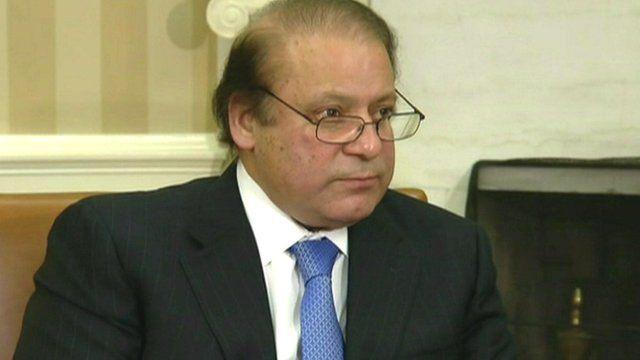 Pakistani PM Nawaz Sharif