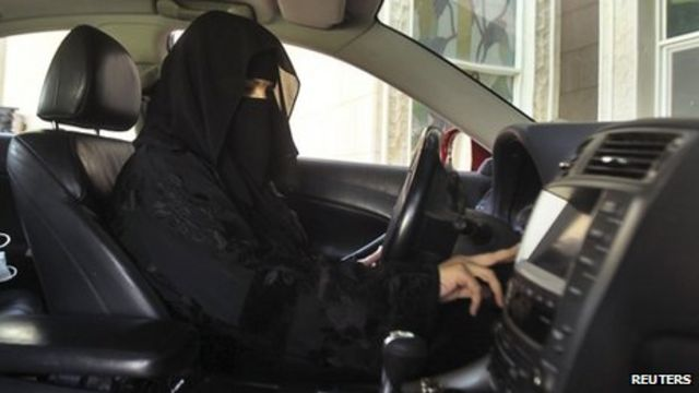Some Saudi women defy driving ban in day of protest