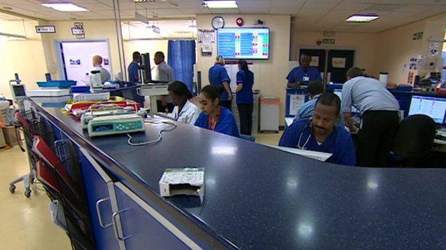 Nursing desk