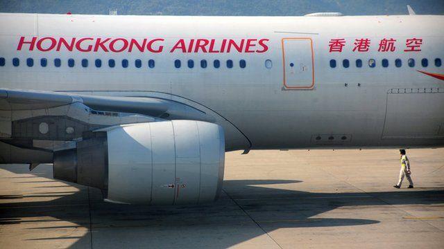 Hong Kong Airlines Airbus A330-200 passenger jet at Hong Kong International Airport
