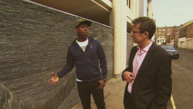 Robert Peston speaks to internet entrepreneur Jamal Edwards