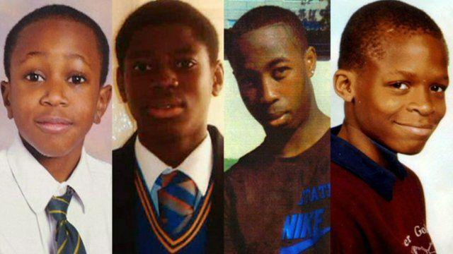 Four young victims of knife crime