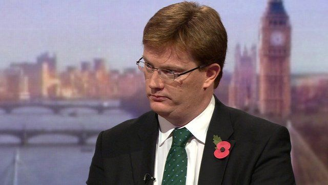 Danny Alexander speaking on The Andrew Marr Show