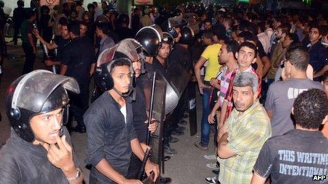 Three Egyptian policemen killed by Mansoura gunmen
