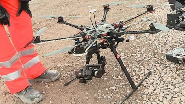 'Hexacopter' changes the way TV reporters work