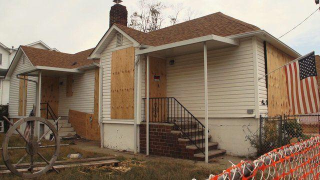 House being rebuilt on Staten Island