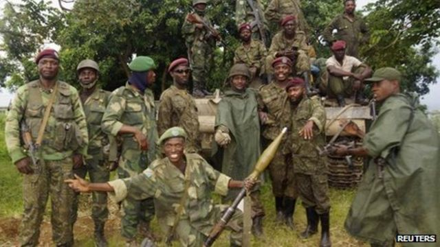 DR Congo M23 rebels 'all but finished', says UN