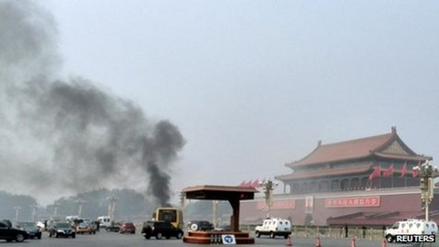 China to try eight people over deadly Tiananmen attack