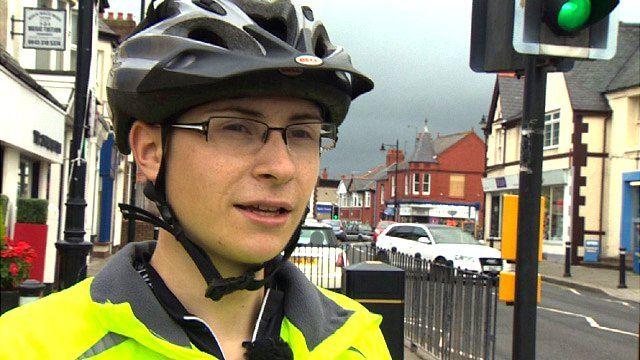 Cyclist Matt Turner