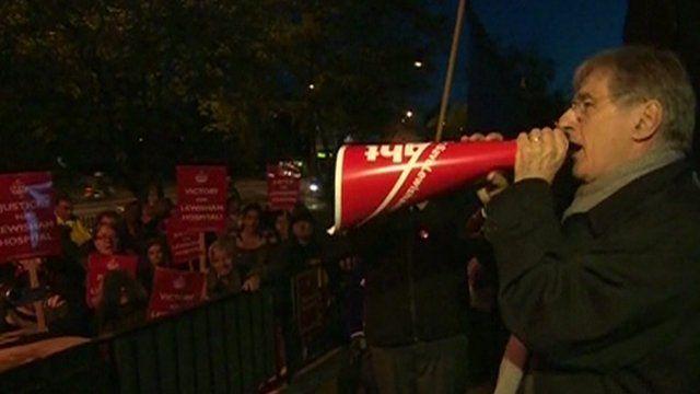 Lewisham Hospital supporters celebrate court appeal