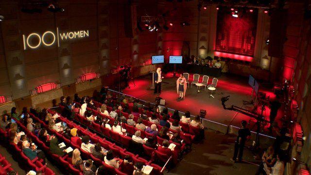 BBC 100 Women conference