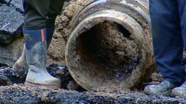 Water mains pipe