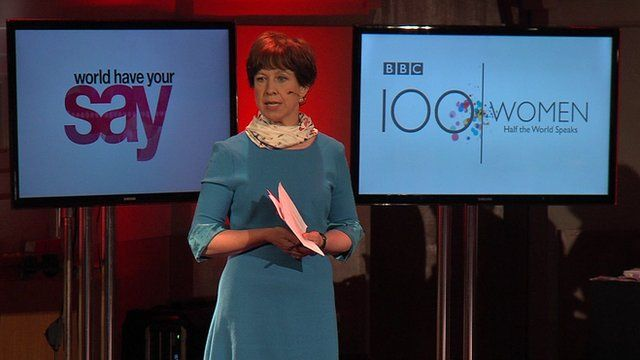 BBC presenter Lyse Doucet