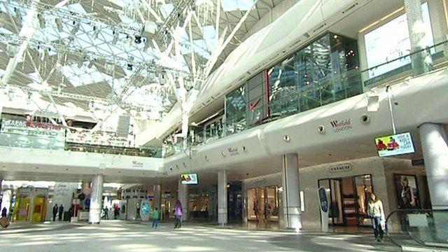 Westfield shopping centre in Shepherd's Bush
