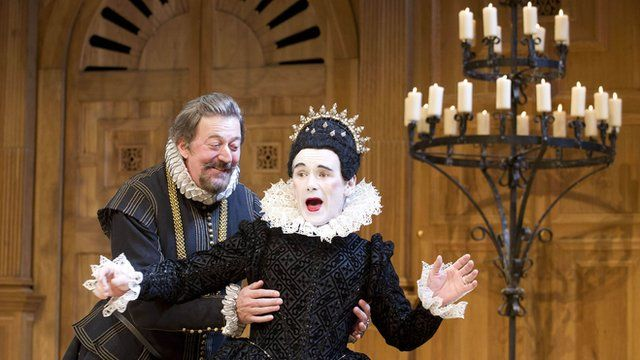 Mark Rylance and Stephen Fry in 'Twelfth Night'
