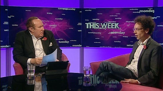 Andrew Neil and Malcolm Gladwell