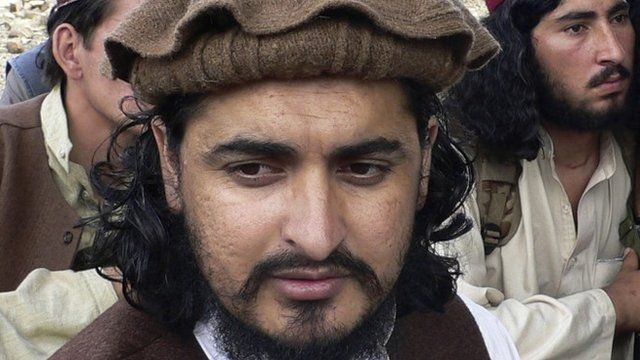 Pakistani Taliban chief Hakimullah Mehsud in Sararogha of the Pakistani tribal area of South Waziristan along the Afghanistan border