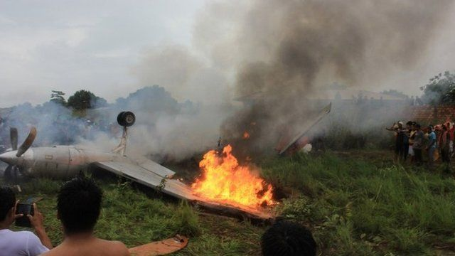 Plane crash in Riberalta, Bolivia