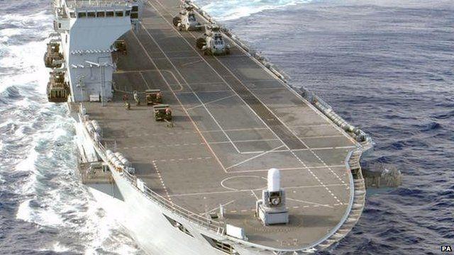 HMS Ocean Aircraft Carrier