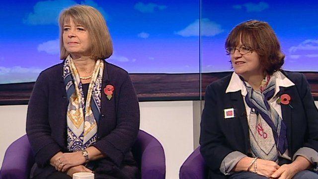 Harriett Baldwin and Fiona Mactaggart