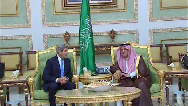 John Kerry on Saudi Arabia visit