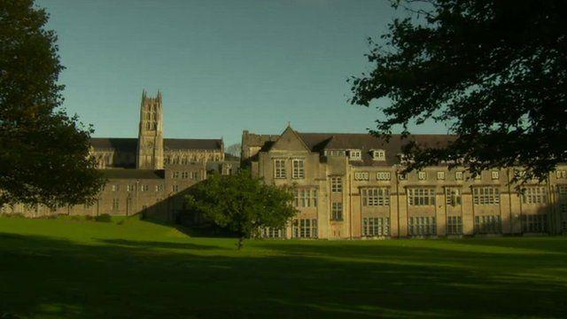 Downside School near Bath
