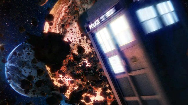 Xander David-Hugh's Doctor Who title sequence