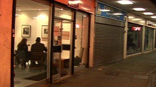 Pop-up restaurant in empty Lewisham shop