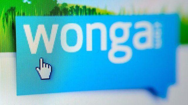 Wonga screen grab