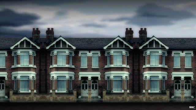 Terraced houses, London