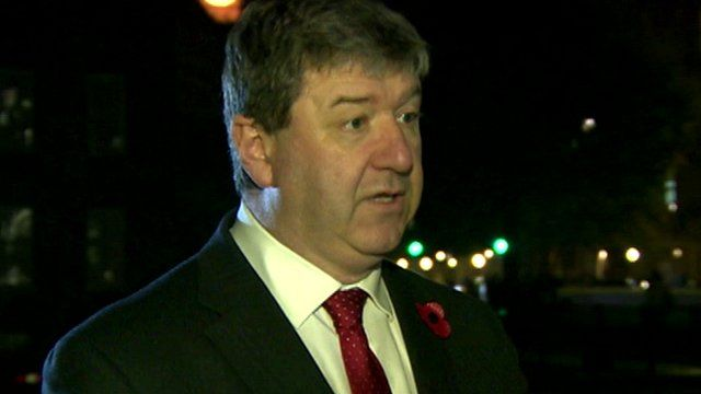 Scotland Secretary Alistair Carmichael