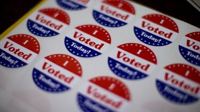 'I voted today' stickers