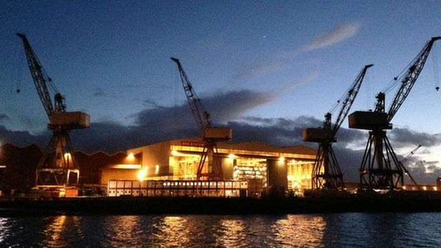 BSE System's Govan shipyard will not be closed, BBC Political Editor Nick Robinson understands
