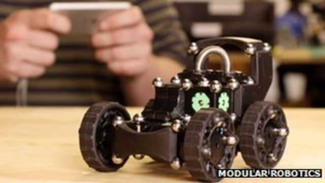 Build-your-own toy robot construction kits unveiled