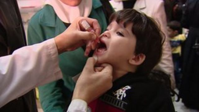 Europe at 'polio risk' from Syria