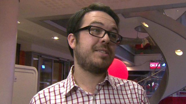 BBC Social Media Editor Chris Hamilton