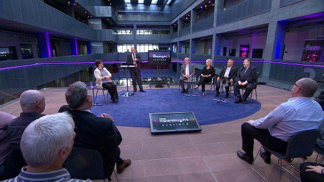 BBC Newsnight Scotland debate