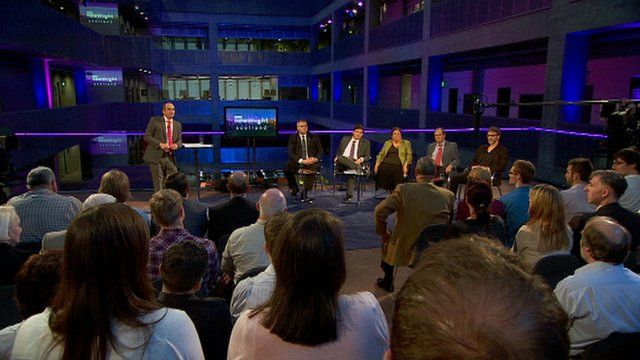 BBC Newsnight Scotland debate