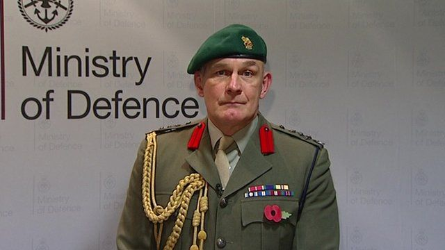 Brigadier Bill Dunham, Deputy Commandant General, Royal Marines
