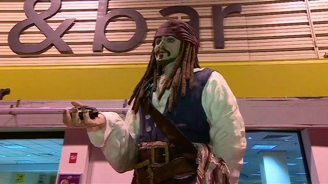 Jack Sparrow cake