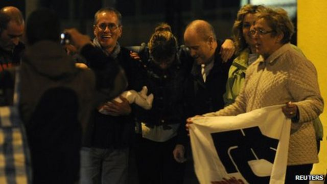 Spain releases eight of nine Eta militants after court move