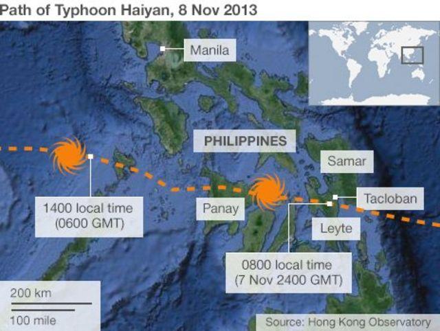 Philippines typhoon: President lowers death toll estimate