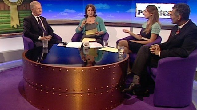 Election candidates on the Daily Politics