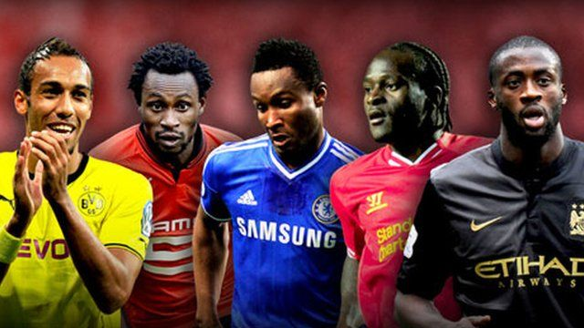 African Football of the Year 2013 candidates